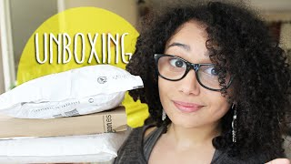 UNBOXING    l  pleins de surprises !