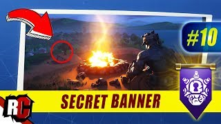 Fortnite | WEEK 10 Secret Banner Location (Season 7 Week 10 Loading Screen / Snowfall Skin)