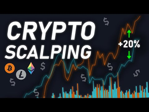 Short Term Cryptocurrency Scalping Strategy | PROFITABLE!
