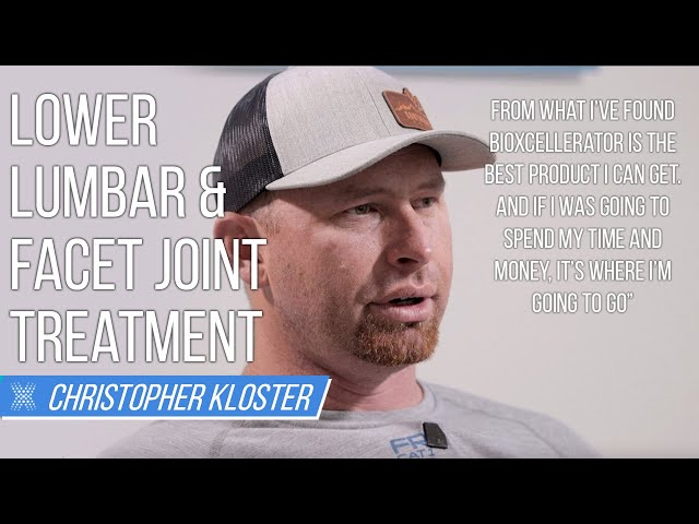 For Lower Lumbar & Facet Joints, Patient Receives Stem Cell Treatment At BioXcellerator
