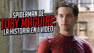 Spider-Man de Sam Raimi Trilogia I La Historia en 1 Video