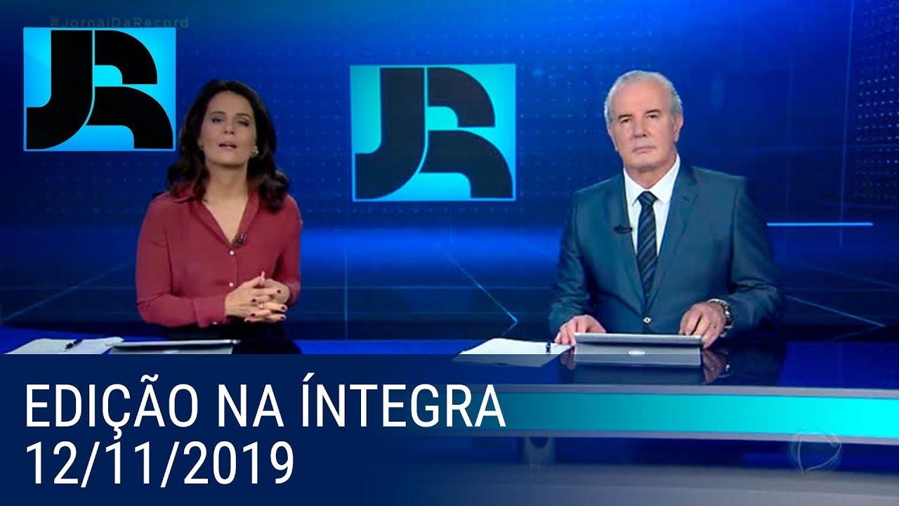 Download Assista à íntegra do Jornal da Record | 12/11/2019