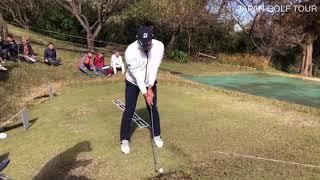 【男子ゴルフ】広報カメラによる練習場密着!ゴルフ日本シリーズJTカップ1stラウンド