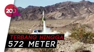 Aksi Penganut Bumi Datar Terbangkan Diri dengan Roket