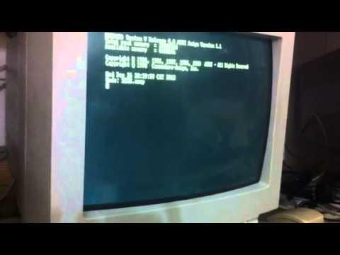 Amiga 3000 unix (amix) v1.1