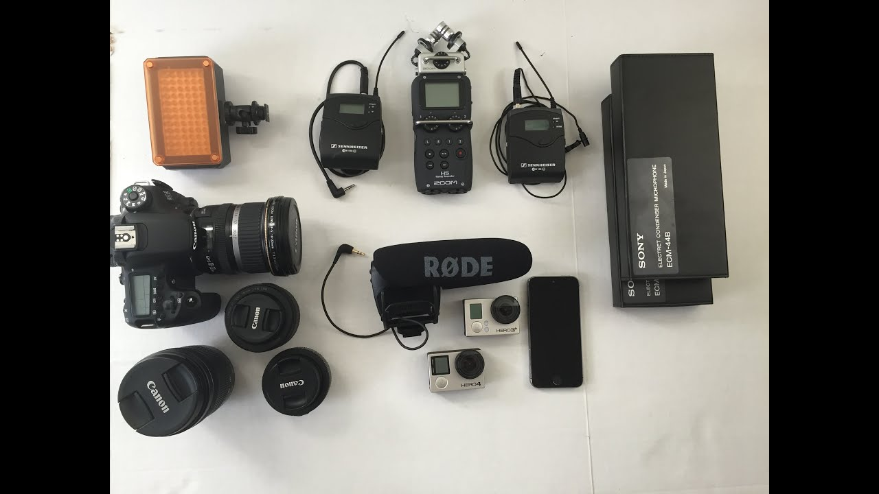 My Video Gear - Evolution Of Filming