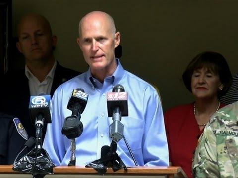 FL Gov. Urges Residents: 'Prepare For Direct Hit'