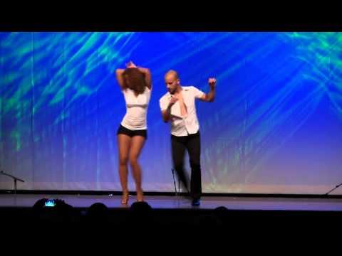 Hamburg Salsa Congress 2011 ,Ataca La Alemana  tanzen Bachata