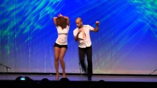 Видео: Hamburg Salsa Congress 2011 ,Ataca La Alemana tanzen Bachata