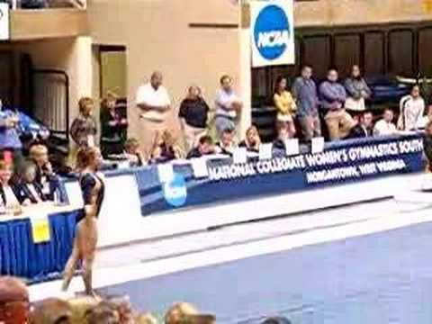 Janae Cox 2007 NCAA Southeast Regionals Floor
