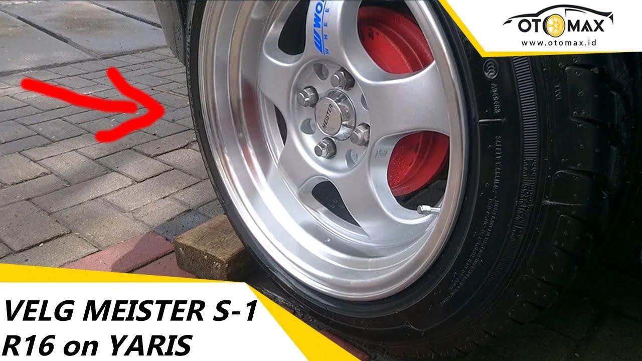 Ukuran Velg New Yaris Trd Kopling Grand Avanza Modifikasi Toyota Meister S 1 Ring 16 Sinar Otomax