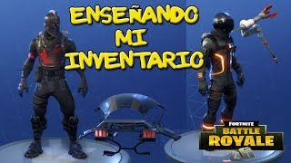I TEACH MY INVENTORY!!! SKINS, BAILES, MOCHILAS, PICOS, ALA DELTAS... In Fortnite