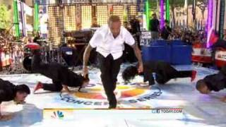 Chris Brown performs I Can Transform Ya (Dance Medley) on The Today Show