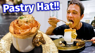 Giant Scallop PASTRY HAT!! 🥖  27 Year Old Chef Cooks FRENCH FOOD in a Warehouse!!