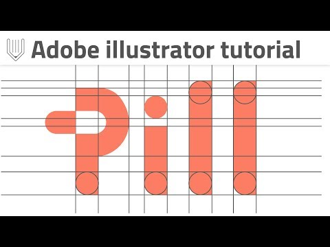 Negative space in logo design. How to create custom wordmark in Illustrator