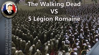 The Walking Dead VS 5 Légion Romaine Ultimate Epic Battle Simulator