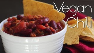 Vegan Chili | Perfect For Game Day (superbowl Sunday)
