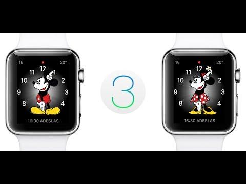 diseño de calidad f799b c678a Mickey te dice la hora en voz alta con watchOS 3