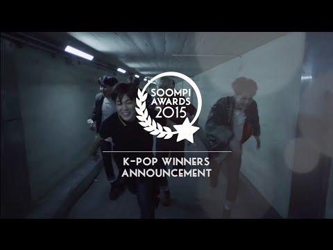 Soompi Awards 2015 Music Winners : BTS, SEVENTEEN and More