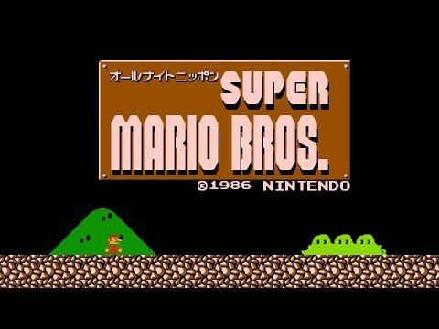 All Night Nippon Super Mario Bros. - Luigi Game