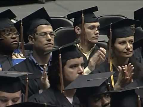 Wichita State University Barton School of Business Commencement 2013