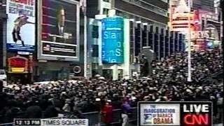 Barack Obama 1st Inauguration - January 20, 2009 - CNN News Coverage Pt 2