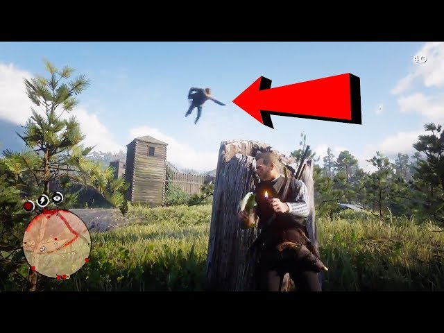 Red Dead Redemption 2 - Funny Moments Compilation! #5