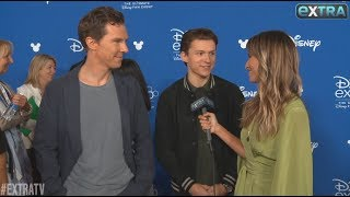 Tom Holland and Benedict Cumberbatch Talk