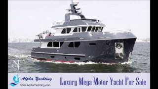 Luxury Motor Yachts For Sale - a Bering 80 luxury motor yacht for sale