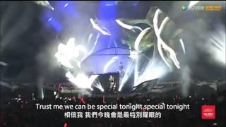 I Wanna Know 我想知道 - Alesso feat. Jolin Tsai 蔡依林 Live@Budweiser STORM Festival 2016 中文字幕