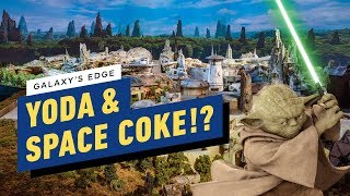 Galaxy's Edge Features Yoda and... Space Coca-Cola? - Star Wars Celebration 2019
