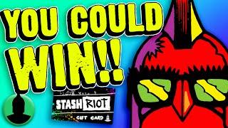 WIN $1,000 FROM STASHRIOT.COM!