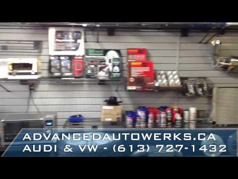 Advanced Autowerks Shop Tour - Ottawa VW & Audi Repair, Parts, & Modification