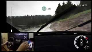DIRT RALLY GAMEPLAY Fastest run.