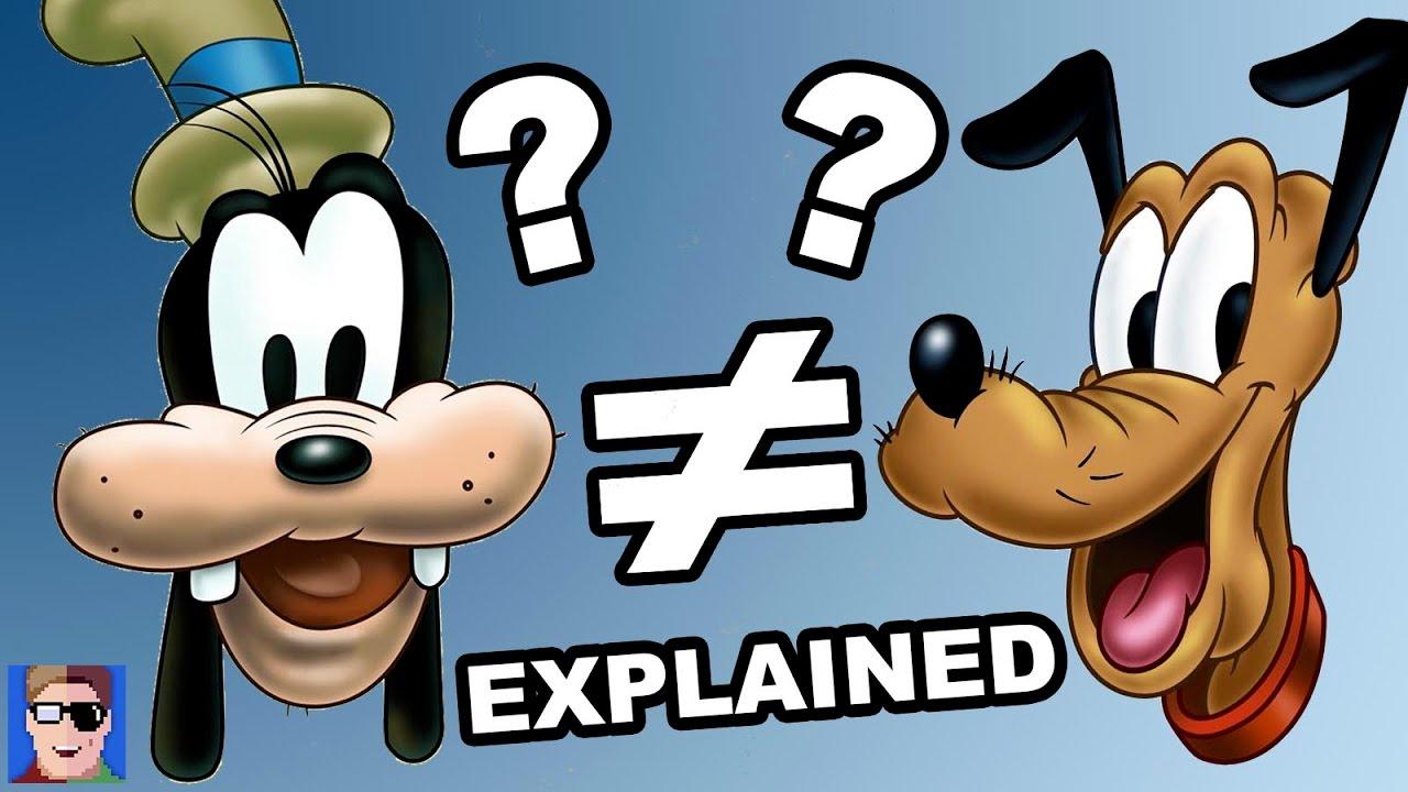 Goofy Vs Pluto Explained Youtube