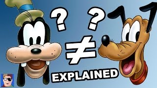 Goofy vs Pluto Explained