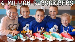Rainbow Tacos 6 Million Subscribers Celebration!