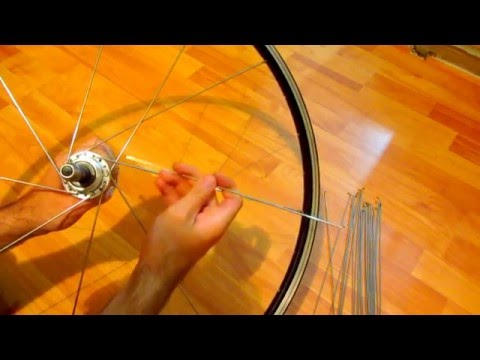 How to build a Bicycle Wheel (32 Spoke, Rear wheel)