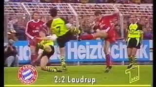 1990/1991 Borussia Dortmund   FC Bayern München 2-3