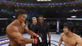 Night Killer vs. Bruce Lee (EA sports UFC 3)
