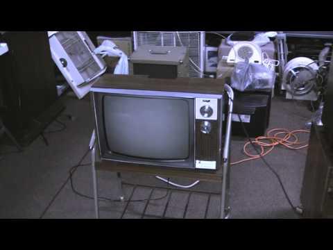 "The 1972 Zenith 16"" Portable Black & White Television"