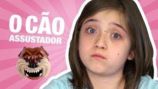 NÃO ACORDE ESSE CACHORRO!!! | Brincadeiras da Luli | Unboxing de Brinquedo: Bad Dog