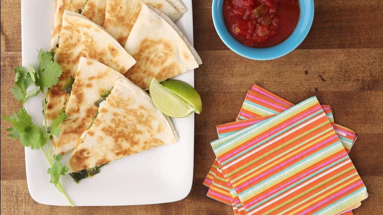 How to Make Jalapeno Popper Quesadillas   Snack Recipes   Allrecipes.com