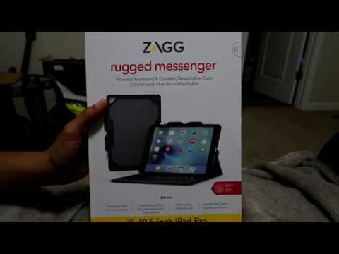 9b086da13e1 UNBOXING!!! ZAGG RUGGED MESSENGER Ipad PRO 10 5 Case - YouTube