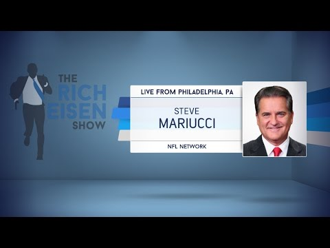 NFL Network Analyst Steve Mariucci Joins Talks NFL Draft & More in Studio - 4/25/17