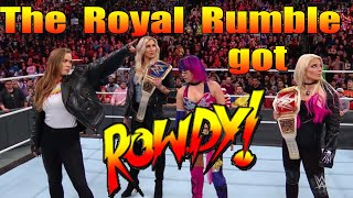 WWE Royal Rumble gets ROWDY with Ronda Rousey