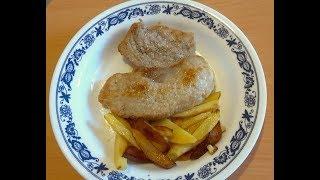 Как правильно пожарить мясо свинины /  Жарим мясо на сковороде