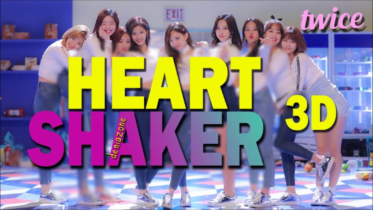 [3D AUDIO] TWICE (트와이스) - HEART SHAKER (Headphone Needed)
