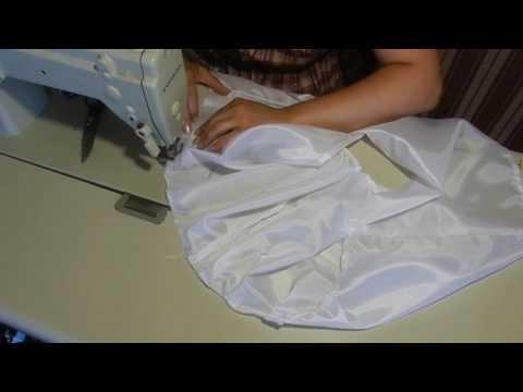 Как сшить подъюбник для вязаного сарафана