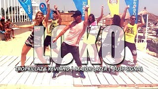 LOKO - TROPKILLAZ ft MAJOR LAZER & KEVINHO | Zumba Fitness Choreo by @ionutdance